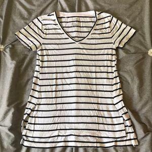 Breton Stripe Pajama Top